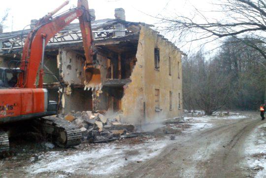 На месте снесенных домов на Заповедной будет зеленая зона