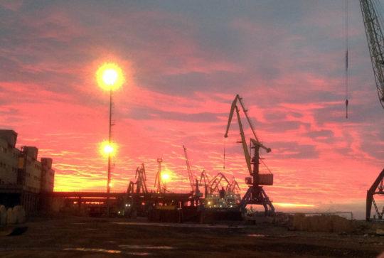 Морской порт Санкт-Петербурга, Экологическое сопровождение, Демонтаж нежилых зданий
