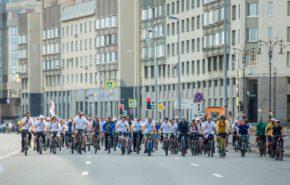 Фотографии с велопробега 10 августа