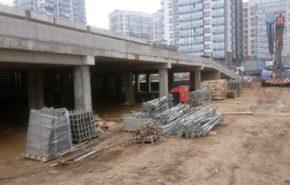 Завершен комплекс работ на объекте бытового обслуживания по проспекту Маршала Блюхера в Санкт-Петербурге
