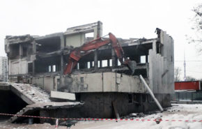 Хрустальная подготовка территории ФГУП «Пассажиравтотранс»