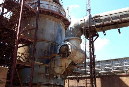 Демонтаж конструкций для АО «Воскресенские минеральные удобрения»