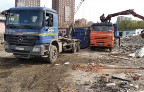 Подготовка стройплощадки для ЖК «Профит» в Москве