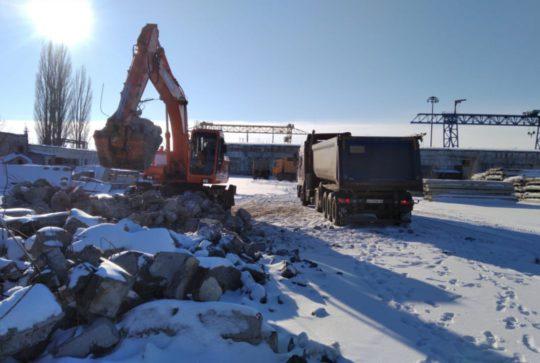 Разборка ж/б конструкций в Курчатове