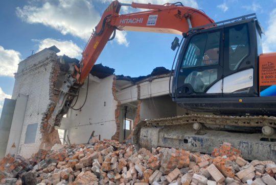 Демонтаж металлоконструкций для ГУП «Водоканал»