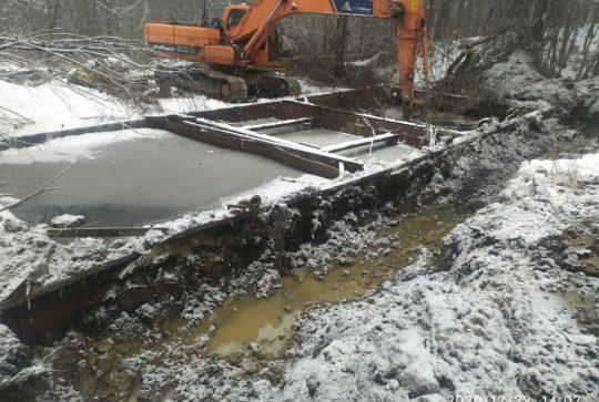 Снос очистных сооружений для ГУП «Водоканал»