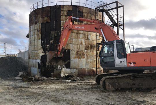 Ликвидация объектов для Роснефти