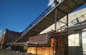 Демонтаж части здания котельной АО «ТЭКОС»