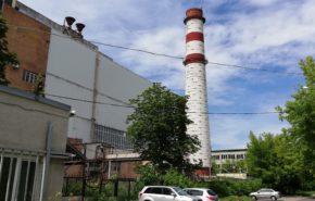 Демонтаж дымовой трубы ПАО «Мосэнерго»