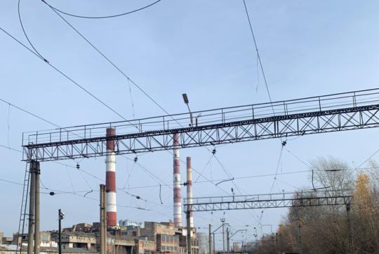 Демонтаж контактной сети железнодорожных путей филиала «Каширская ГРЭС»