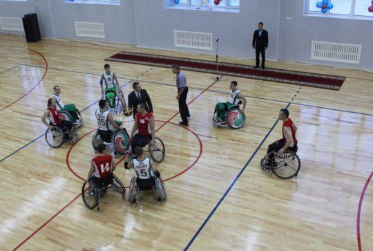 Завершены работы на территории многофункционального спорткомплекса для лиц с ограниченными возможностями