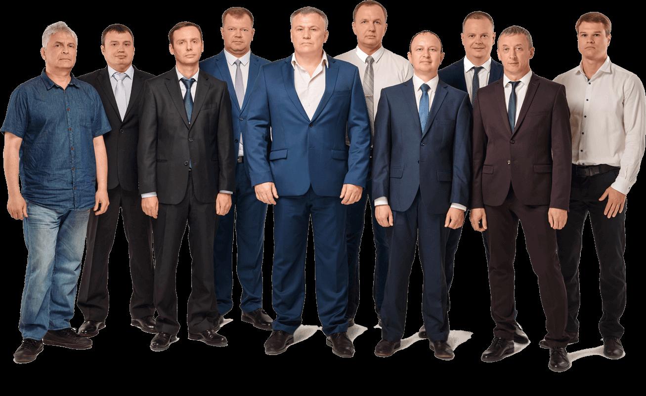 команда компании сносстрой